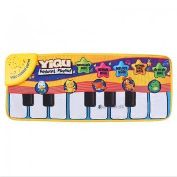 Educational mat mini piano 72x29cm - Izlgītojošs paklājs- mini klavieres