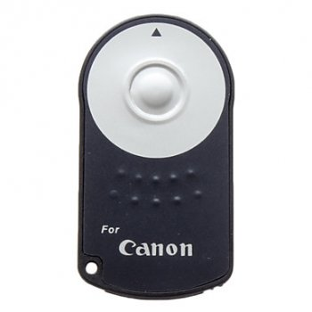 RC-6 RC6 Wireless Remote Control for Canon 5D Mk II 7D 60D 450D 500D 550D 600D tālvadības pults