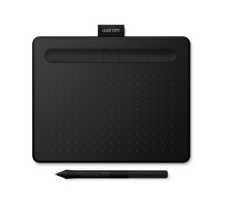 Bluetooth Graphics Tablet Wacom Intuos S (Small), Black
