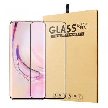 Xiaomi Mi 10 / Mi 10 Pro 3D Full Covering Tempered Glass Screen Protector | Ekrāna aizsargstikls