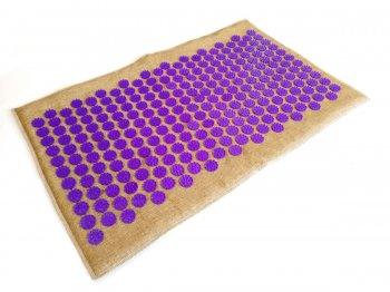 Acupressure Massage Mat Lounge (68 x 42cm, Purple)