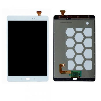 LCD Assembly Samsung GALAXY TAB A 9.7 SM-T555 white ORG