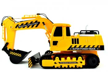 City Truck Radiovadāms ekskavators 1:18 | Excavator with RC plow