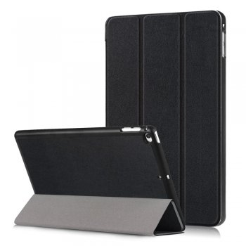 Vāks apvalks pārvalks priekš iPad Mini 4 / Mini (2019) 7.9 inch | Tri-fold Stand Case for iPad Mini 4 / Mini (2019) 7.9 inch - Black