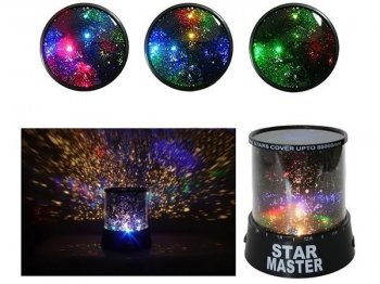 LED Star Master, Projection night lamp