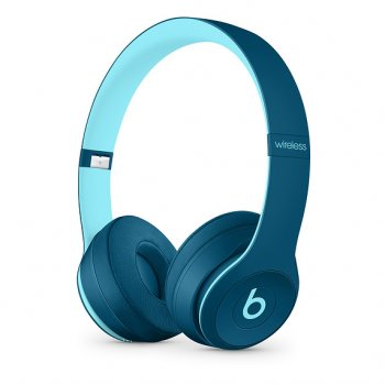 Beats Solo3 Wireless On-Ear Headphones Pop Blue