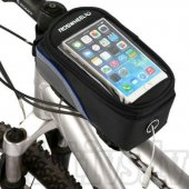 Roswheel Front Tube Cycling Bike Bag Case for Phone Size L-XL black/blue - universāls maks velosipēdam