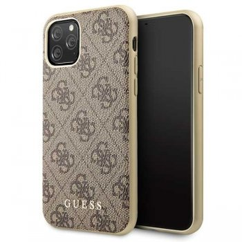 Apple IPhone 11 Pro Guess Brown Hard Case 4G Collection
