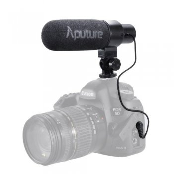 Aputure V-Mic D1 Shotgun Directional Microphone - ārējais video mikrofons