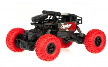 Car RC Climber Crazon 2.4Ghz 4WD WiFi Camera- radiovadāms auto