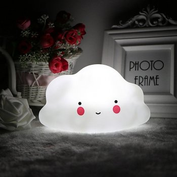 "LED Night Lamp ""Cloud"" - White"