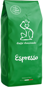 Caffe Corcovado Кофейные зерна Espresso: 30% Arabica 70% Robusta | Coffee beans