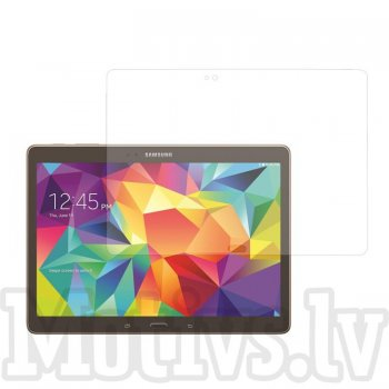"Screen Protector for Samsung Galaxy Tab S 10.5"" T800 T801 T805, transparent clear guard - ekrāna aizsargplēve, protektors"