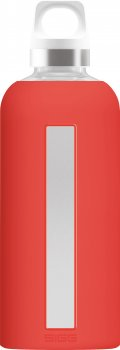 Sigg Water Bottle 0,5L STAR Glass SCARLET red