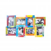 Kids Colorful Photo Frame For 8 Photos -Foto rāmis uz 8 fotogrāfijam