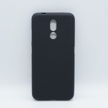 Чехол обложка бампер для Nokia 3.2 | Double-sided Matte TPU Case for Nokia 3.2 - Black