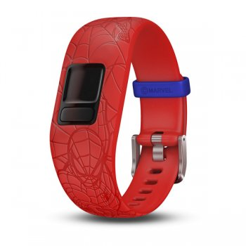 Garmin vivofit jr. 2 Marvel Spider-Man, red