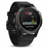 Garmin fenix 5 grey with black Armband 47mm