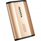 Adata external SSD SE730H Gold 256GB USB 3.1 Gen 2 Type C