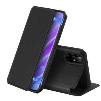 Samsung Galaxy S20+ Plus DUX DUCIS Skin X Series PU Leather Case Cover - Black | Чехол Книжка для телефона