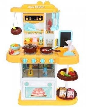 Bērnu Rotaļu Spēļu Virtuve ar piederumiem 43 gab. 72cm | Toy Kitchen Set For Children with Accessories