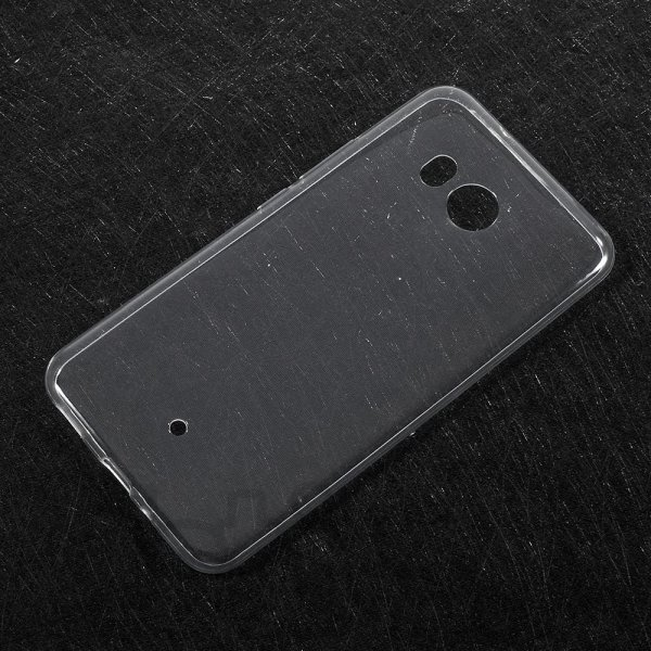 HTC U11 Ultra Slim Thin Silicone TPU Soft Case, transparent - эластичный кейс для телефона