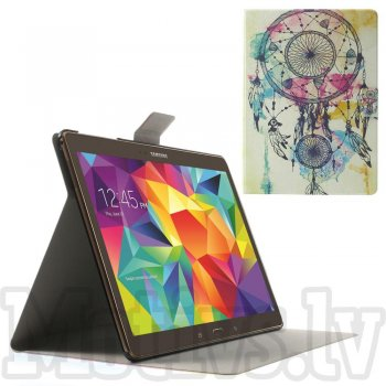 "Samsung Galaxy Tab S 10.5"" T800 T801 T805 Perfume Leather Case Cover, dream catcher - vāks apvalks pārvalks maks"