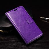 LG Google Nexus 5X H791 Crazy Horse Leather Wallet Case Cover Stand, purple – vāks vāciņš maks maciņš