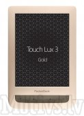 Pocketbook 626 Touch Lux 3 E-book e-reader with light - Gold, электронная книга - золотая