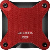 Adata external SSD SD600 Red 256GB USB 3.0