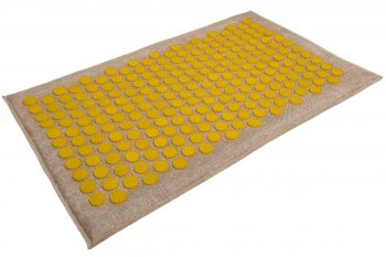 Acupressure Massage Mat (68 x 42cm, Yellow)