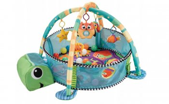 "Multifunctional Baby Educational Mat Carpet Pool ""Turtle"" 3in1"