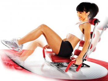 AB Rocket Twister Abs Excercise Machine Unisex