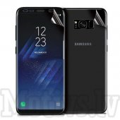 Curved Screen Protector for Samsung Galaxy S8 SM-G950F, front + back - ekrāna aizsargplēve, protektors