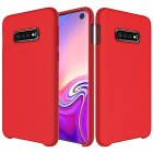 Samsung Galaxy S10e (G970F) Soft Flexible Silicone Cover Case, Red | Telefona maciņš vāciņš