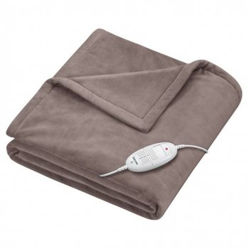 Beurer HD 75 taupe heated blanket