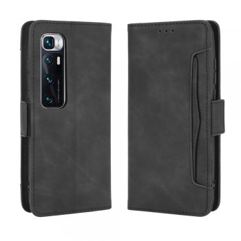 Xiaomi Mi 10 Ultra Wallet Stand Flip Leather Protective Case Cover, Black