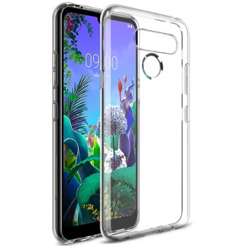 LG Q60 / K12 Prime / K50 - Vāks Apvalks Bamperis | IMAK UX-5 Series TPU Cover Case, Clear