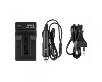 Battery Charger for Xiaomi Yi AZ13-1 + 12V Car Charger