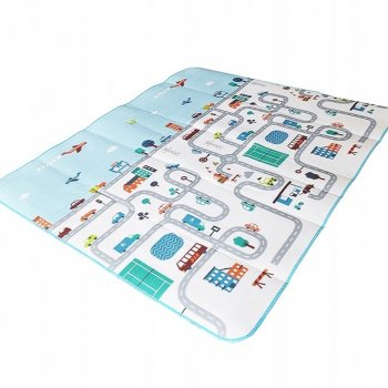 Educational double sided carpet 200x180 cm
