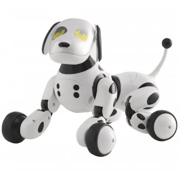 RC Dog Interactive Controlled + Remote | Radiovadāms suns - robots