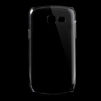 Samsung Galaxy Trend Lite S7390 Fresh S7392 Crystal Clear PC Protective Back Case, transparent - aksesūars vāks maks