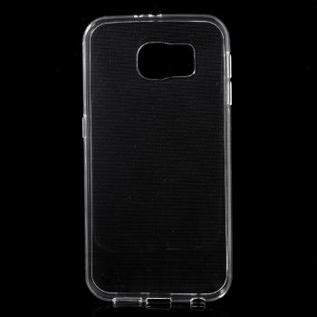 Samsung Galaxy S7 edge SM-G935F Ultra Slim Thin TPU Case Cover, transparent - vāks vāciņš maks maciņš