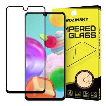 5D Samsung Galaxy A41 (SM-A415F) Tempered Glass Screen Protector [Full Glue] - Black