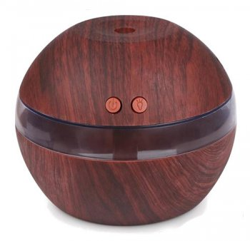 Ultraskaņas Gaisa Mitrinātājs Bumba no Koka | Ultrasonic Air Humidifier Electric Diffuser Ball Wood