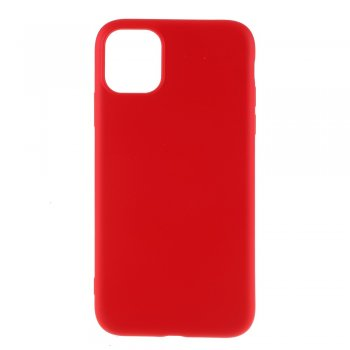 Apple iPhone 11 Pro Liquid Silicone TPU Case Cover Shell, red - silikona vāciņš maciņš