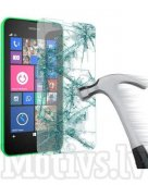 Tempered Glass Screen Protector for Nokia Lumia 630, 635 0.3mm 9H transparent guard - ekrāna aizsargstikls, protektors