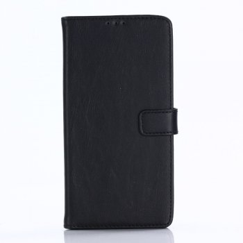 Google Pixel 2 Leather Book Case – Black | Atverams ādas maciņš