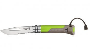 Opinel No. 08 Outdoor green Pocket knife