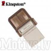 Kingston DataTraveler microDuo 2.0 32GB USB microUSB OTG Flash Drive - USB zibatmiņa